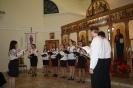 Молодіжний хор з церкви св. Василія Великого м. Київ 2013 у Видмінах