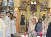 Божественна Літургія у храмі Пресвятої Тройці в Гіжицьку в неділю 16 жовтня 2016 (2)