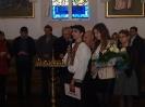 Хор «Камертон» ОУП Мазурського відділу та октет «Орфей» зі Львова у Венгожевській святині
