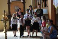 Подячна св. Літургія з нагоди закінчення навчального року і прощання с. катехиткою Магдаленою Ожанською, ССНДМ 2016 (2)